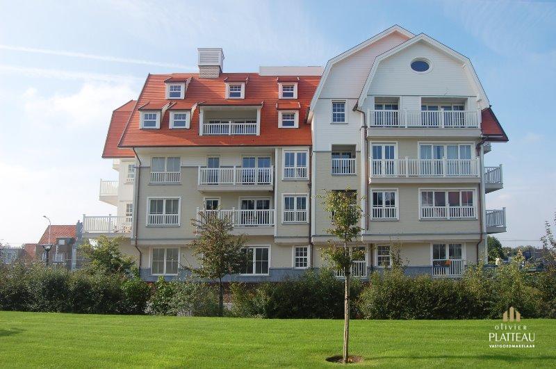 Gelijkvloersappartement met 2 slpk en tuin in de residentie Dock Side.