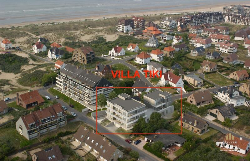 Kleinschalig nieuwbouwproject bestaande uit 10 appartementen gelegen op 50m van het strand te Oostduinkerke-Bad in een rustige omgeving met prachtig duinenzicht.