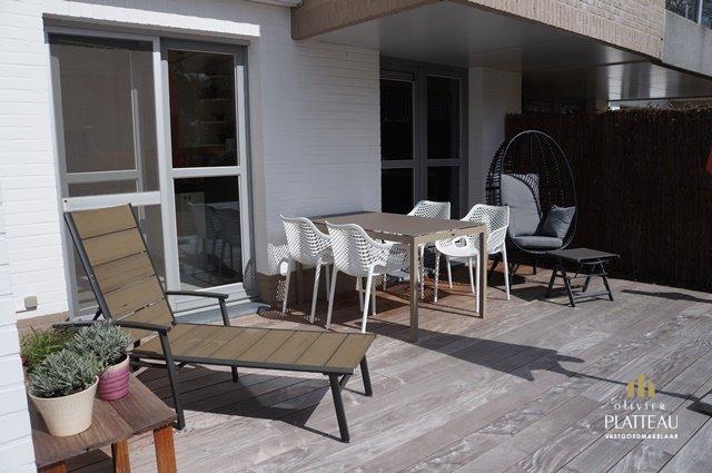 Appartement (152m²) met 3 slpk, 3 badkamers en zonnig terras!