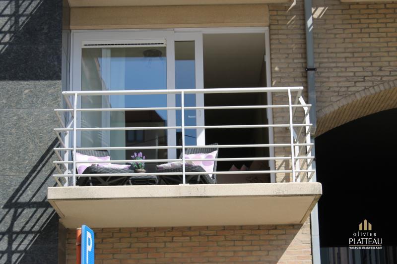 Instapklaar appartement met aparte slaapkamer vlakbij zee.
