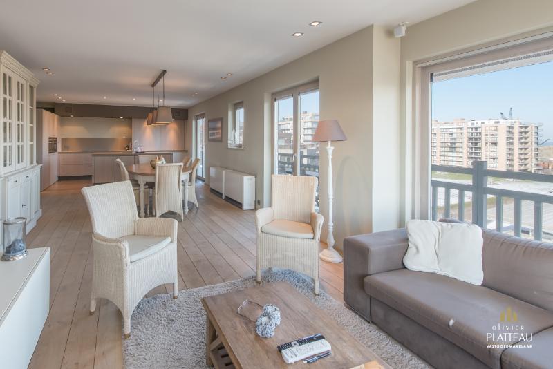 Uitzonderlijk hoekappartement met 3 slaapkamers en prachtig uitzicht!